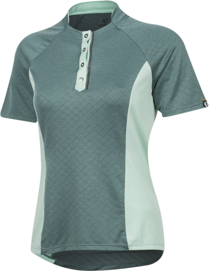 Pearl Izumi Women's SELECT Escape Texture Jersey Color: Arctic Twill/Mist Green