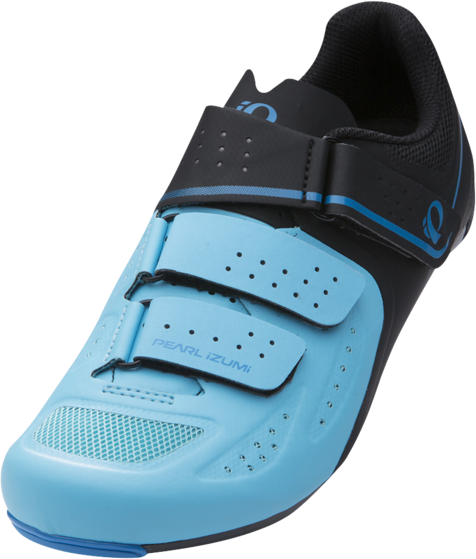 Pearl Izumi Women's SELECT Road v5 Color: Black/Aqua Blue