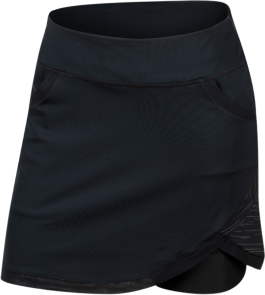 Pearl Izumi Women's Sugar Skirt Color: Black/Reflective HQ