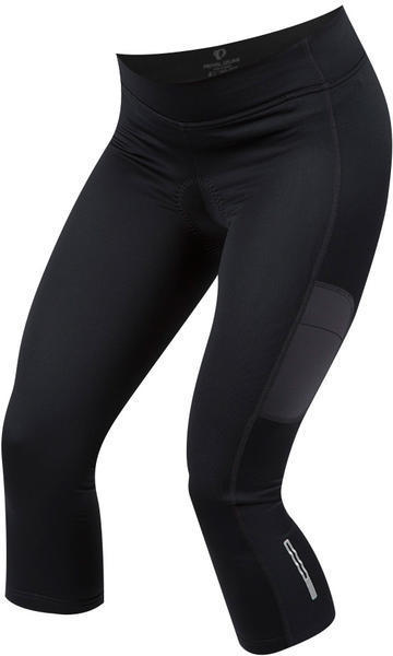 Pearl Izumi Women's Sugar Thermal Cycling 3/4 Tight Color: Black