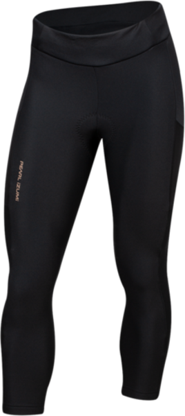 Pearl Izumi Women's Sugar Thermal Cycling Crop Color: Black