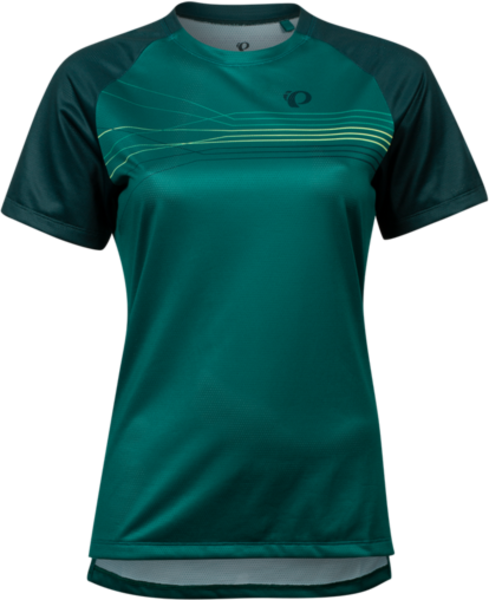 Pearl Izumi Women's Summit Top Color: Alpine Green/Pine Radian