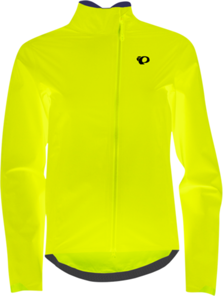 Pearl Izumi Women's Torrent WxB Jacket Color: Screaming Yellow/Turbulence