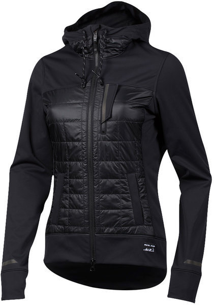 Pearl Izumi Women's Versa Quilted Hoodie Color: Black/Black