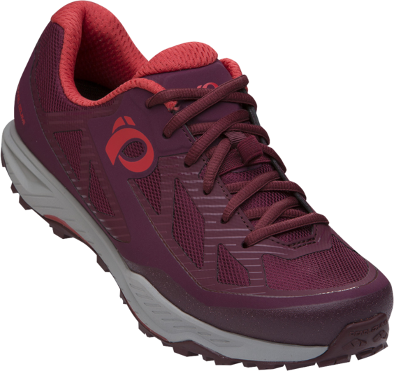 Pearl Izumi Women's X-Alp Canyon Color: Port/Fiery Coral