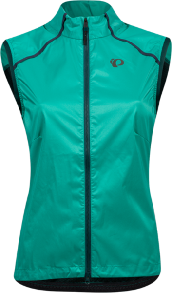 Pearl Izumi Women's Zephrr Barrier Vest Color: Malachite/Pine