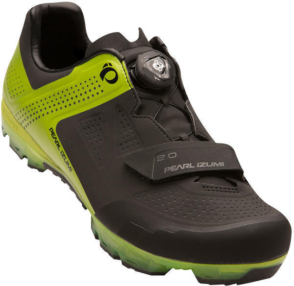 Pearl Izumi Men's X-PROJECT ELITE Color: Black / Lime Punch