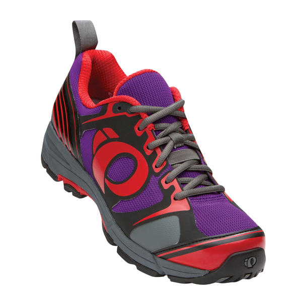 Pearl Izumi X-Road Fuel III Shoes Color: Black/Purple