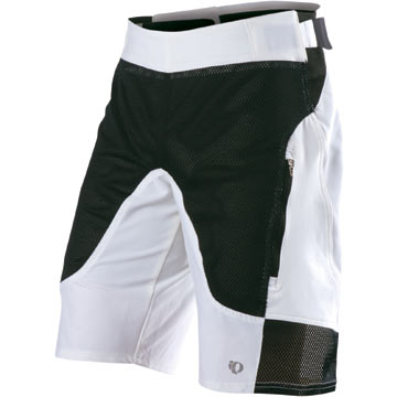 Pearl Izumi Veer Shorts Color: White/Black