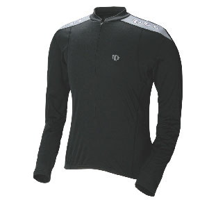 Pearl Izumi Quest Long Sleeve Jersey Color: Black