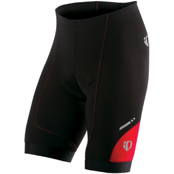 Pearl Izumi P.R.O. In-R-Cool Shorts Color: Black/True Red