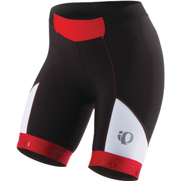 Pearl Izumi Women's P.R.O. In-R-Cool Shorts Color: Black/True Red