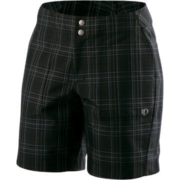 Pearl Izumi Women's Launch Shorts Color: Black Plaid