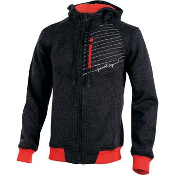 Pearl Izumi Thermal Hoody Color: Black/True Red