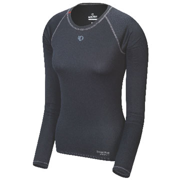 Pearl Izumi Women's Transfer Long Sleeve Base Layer Color: Black