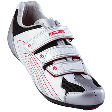 Pearl Izumi Select Road Shoes Color: White/Silver