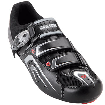 Pearl Izumi Race Road Shoes Color: Black/Shadow Gray