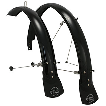 Planet Bike Hardcore Fenders (ATB) Color: Black