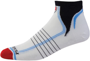 Pearl Izumi Elite Low Socks Color: Annata Blue