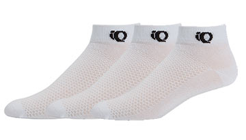 Pearl Izumi Attack Low Socks (3-Pack) Color: White