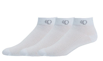 Pearl Izumi Attack Low Socks (3-Pack) - Women's Color: White