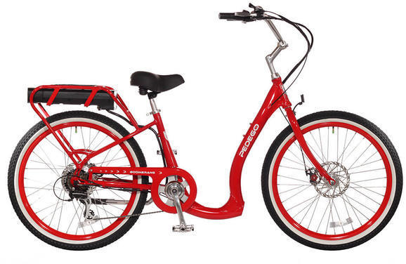Pedego Boomerang Color: Red