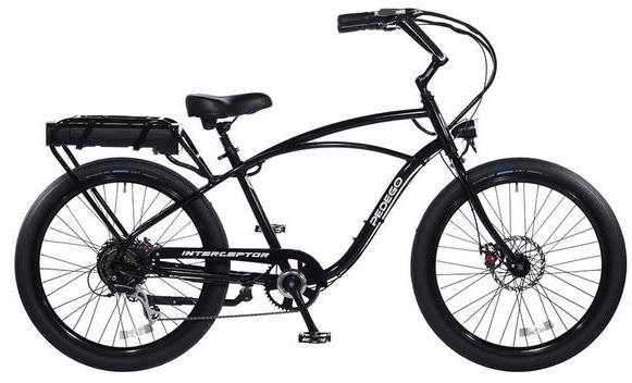 Pedego Classic Interceptor Color: Black
