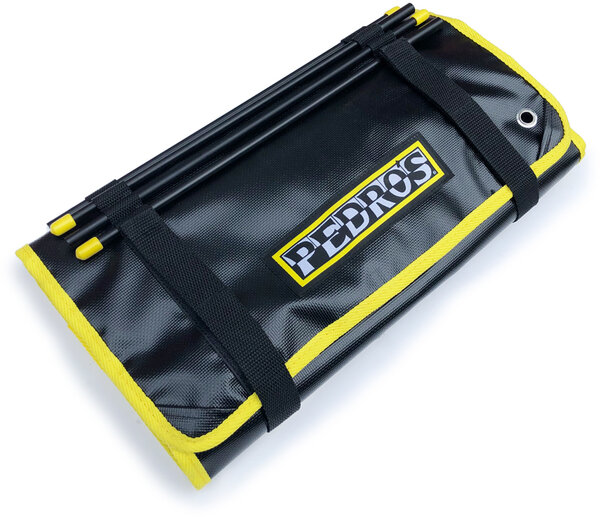 Pedro's Burrito Tool Roll II Color: Black/Yellow