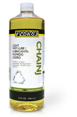 Pedro's Chainj Light Wet Lube Size: 32oz/946ml