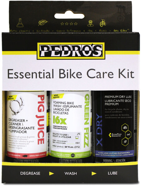 Pedro's Essential Bike Care Kit II