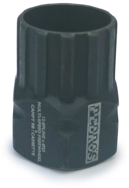 Pedro's Freewheel Socket, Multi-Speed 12-Spline x 23mm
