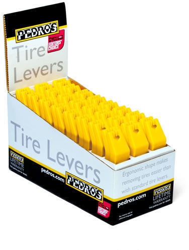 Pedro's Tire Levers Color | Quantity: Yellow | 24-Pack