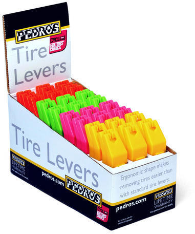 Pedro's Tire Levers Color | Quantity: Multi-color | 24-Pack