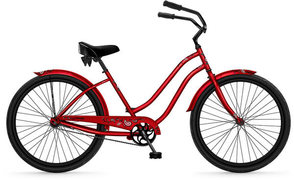 "Phat Cycles Paisley 26"" (1-speed) - Women's"