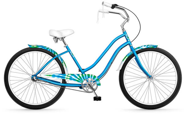 Phat Cycles Tie-Dye 26-inch (3-speed) - Women's