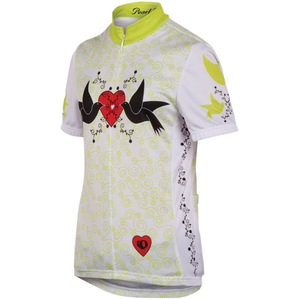 Pearl Izumi Kids' Junior LTD Jersey Color: Doves Lime