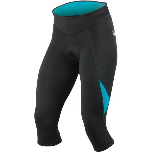 Pearl Izumi Women's Sugar Knickers Color: Black/Peacock