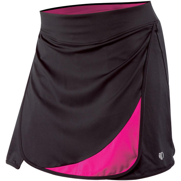 Pearl Izumi Women's Superstar Cycling Skirt Color: Black/Pink Punch