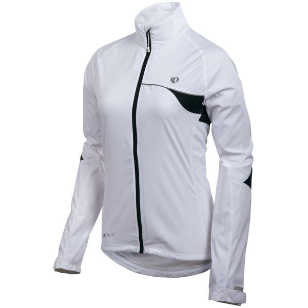 Pearl Izumi Women's Elite Barrier Jacket Color: White
