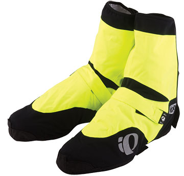 Pearl Izumi Elite Barrier WxB Overshoes Color: Screaming Yellow