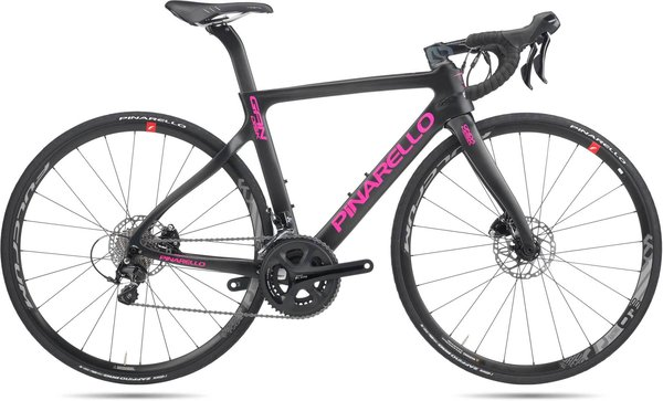 Pinarello GAN Disc Easy Fit Color: Black/Pink