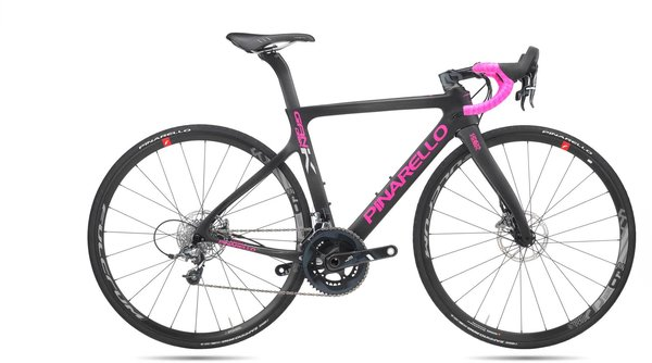 Pinarello GAN K Disc Color: Black/Pink
