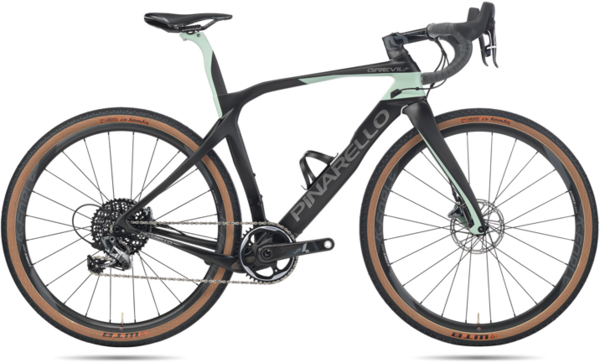 Pinarello Grevil+ SRAM Force Color: Carbon Petrol