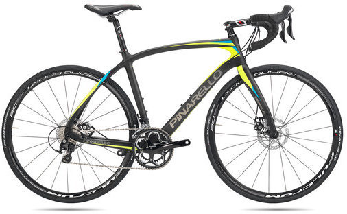 Pinarello Mercurio Disk Color: Black/Fluo Yellow/Blue