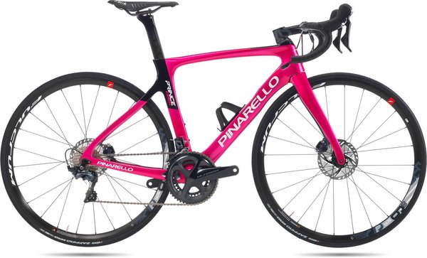 Pinarello Prince Disc Di2 Easy Fit Color: Pink Black