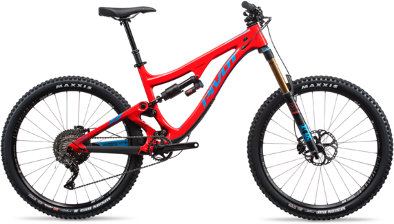 Pivot Cycles Firebird PRO XT/XTR 2x Image differs from actual product