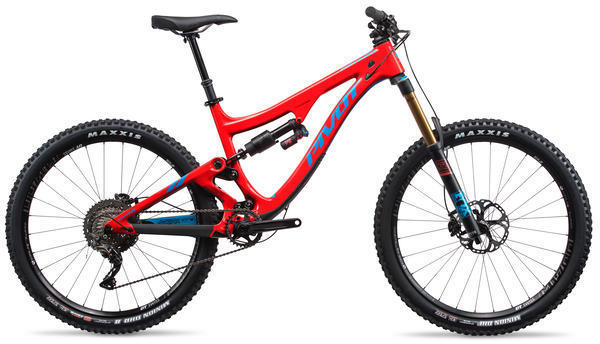Pivot Cycles Firebird PRO XT/XTR 2x Image differs from actual product. PRO XT/XTR 1x build shown.