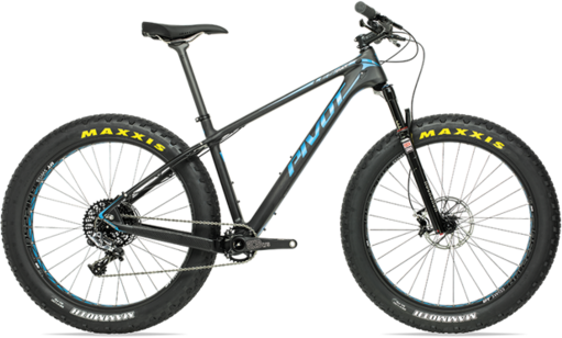 Pivot Cycles LES Fat PRO XT/XTR 1x Color: Natural Carbon/Blue