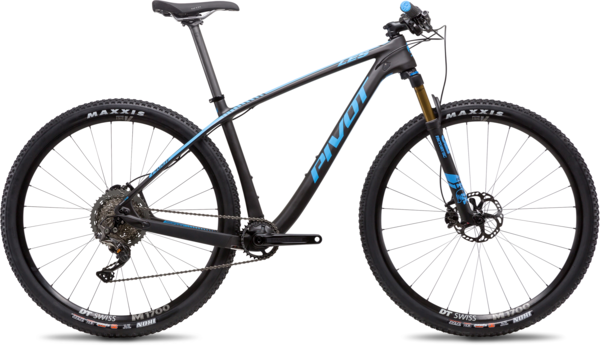Pivot Cycles LES 27.5+ Pro XT Components in image may differ from actual product.