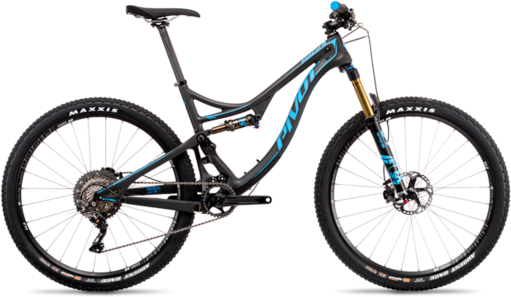 Pivot Cycles Mach 4 Carbon PRO X01 Eagle Image differs from actual product. 1x drivetrain shown